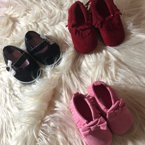 Other - Baby girl moccasins